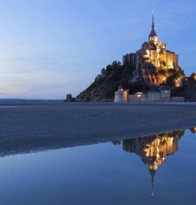 Mont Saint Michel  en Francia