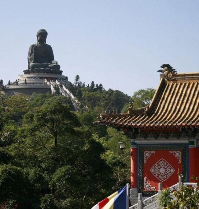 Isla de Lantau en China