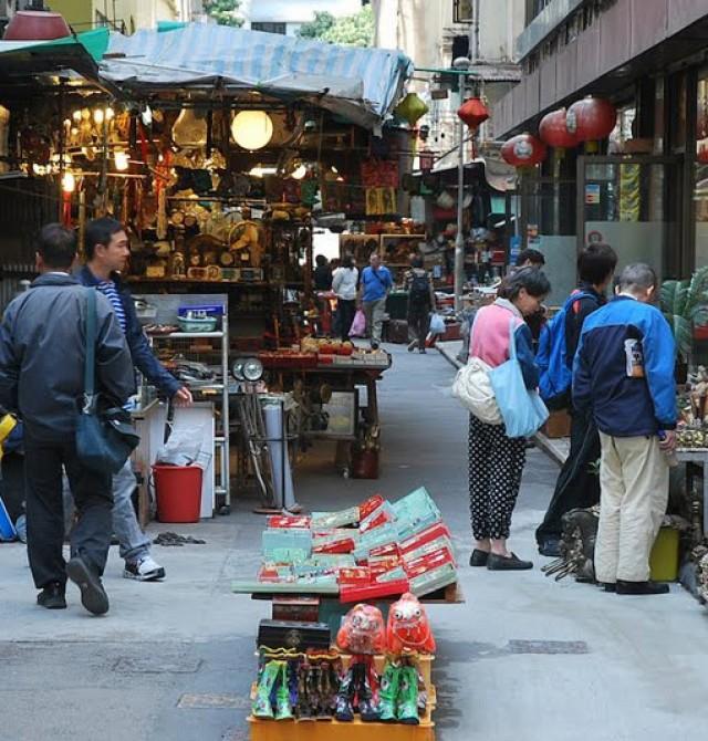 Mercado de Hong Kong