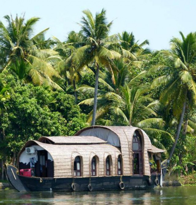 Backswater de Kerala