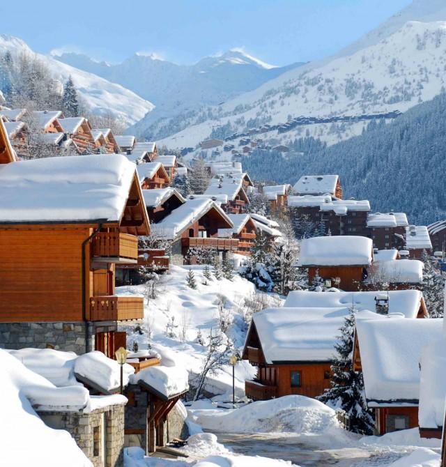 en Los Alpes, Francia