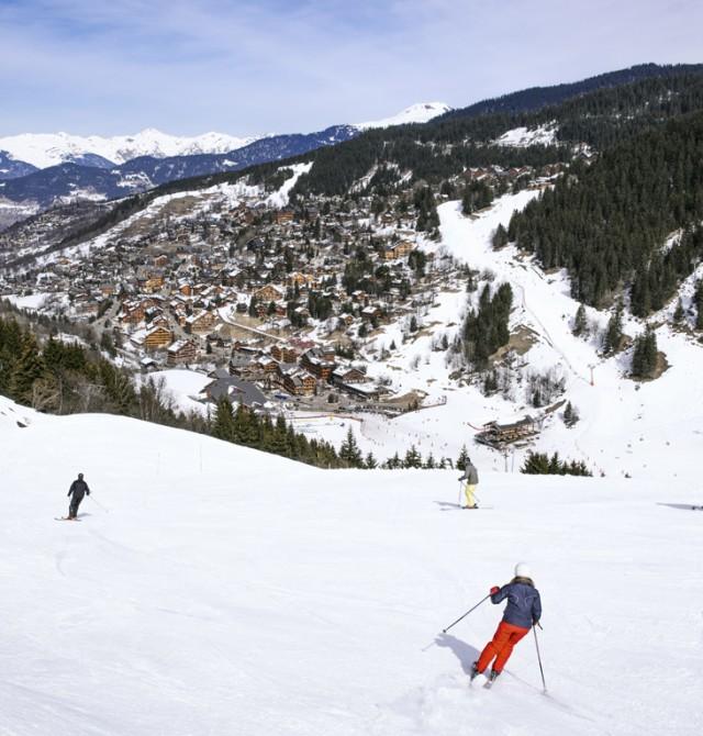 Trío de ases en Los Alpes, Francia
