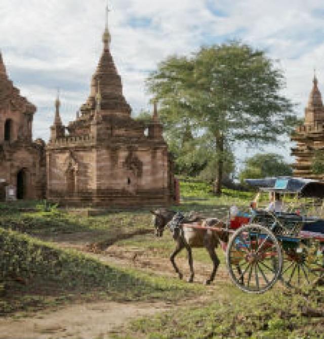 Bagan en Myanmar - Tailandia