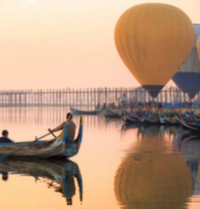 Mandalay en Myanmar - Tailandia