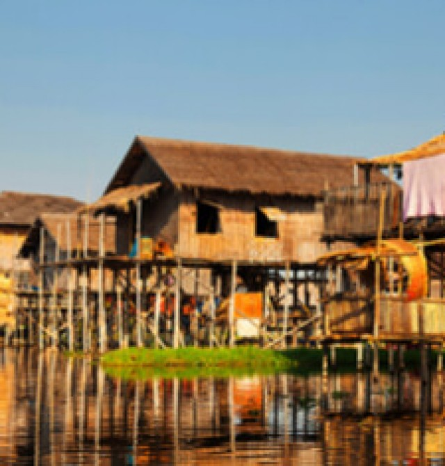 Lago Inle en Myanmar - Tailandia