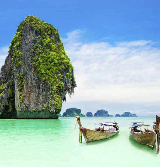 Playas de Tailandia  en Myanmar - Tailandia