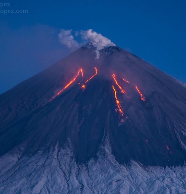 El Valle de los Gigantes en Rusia, Kamchatka