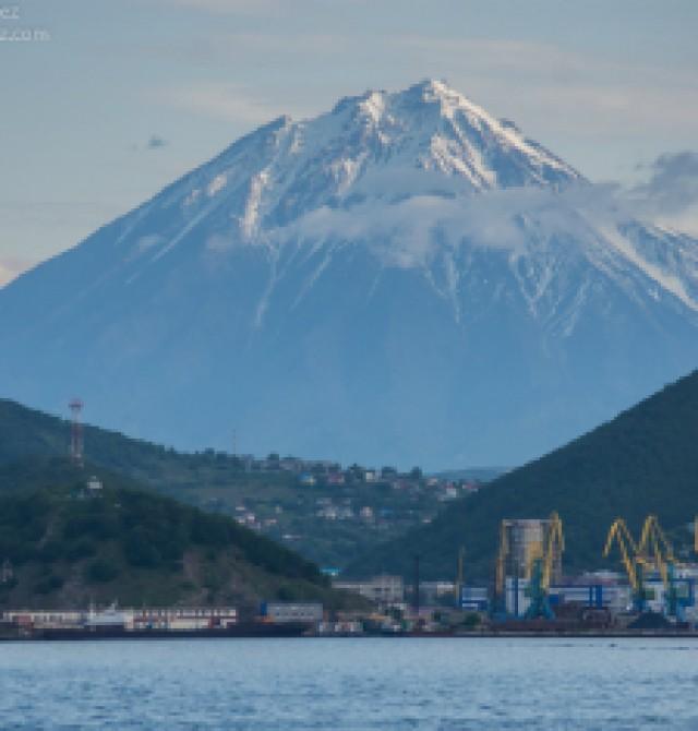 Petropavlovsk-Kamchatsky en Rusia, Kamchatka