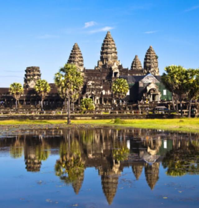 Angkor Wat en Vietnam y Camboya