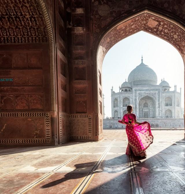El Taj Mahal en India