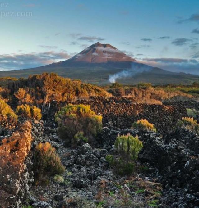 Lajes do Pico en Azores
