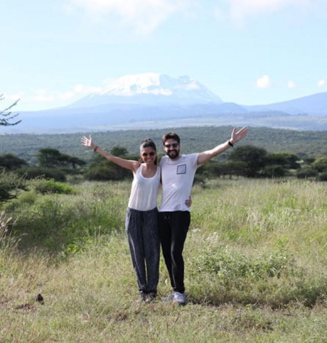 A los pies del Kilimanjaro