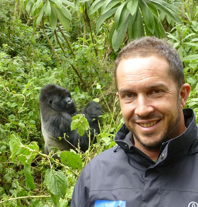 en Uganda, Ruanda y Congo