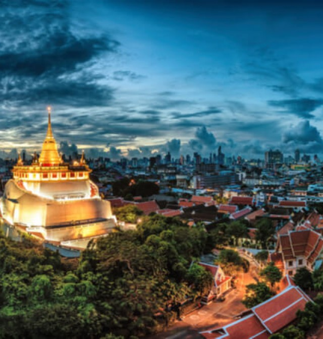 Montaña Wat Saket