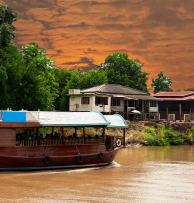 Crucero en Ayutthaya