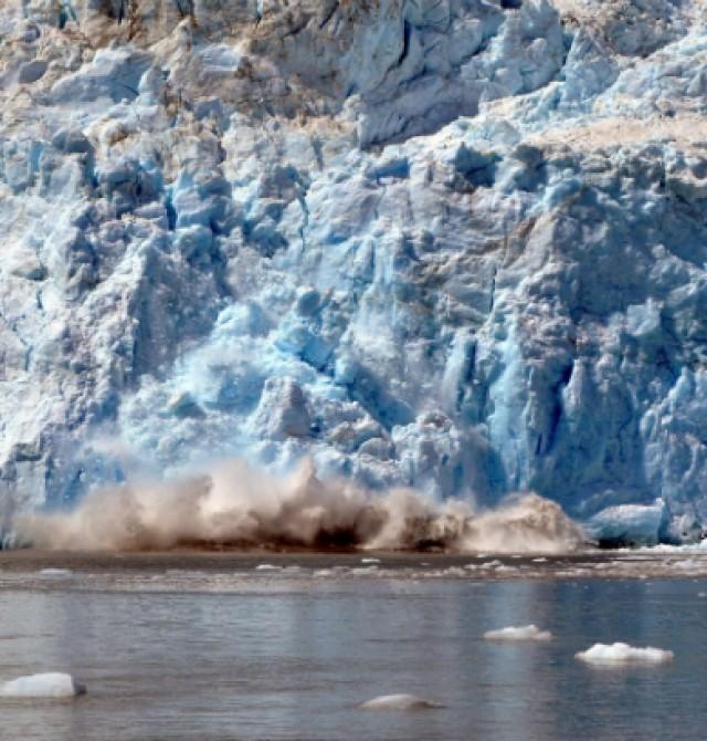 Glaciares y campos de hielo espectaculares