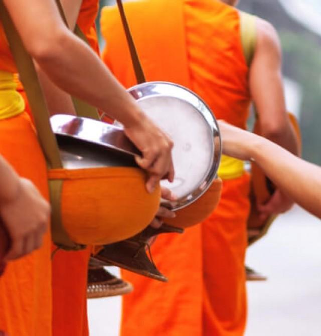 Tradición budista en Luang Prabang