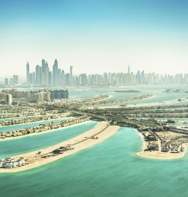 Palm Jumeirah en Emiratos Árabes Unidos