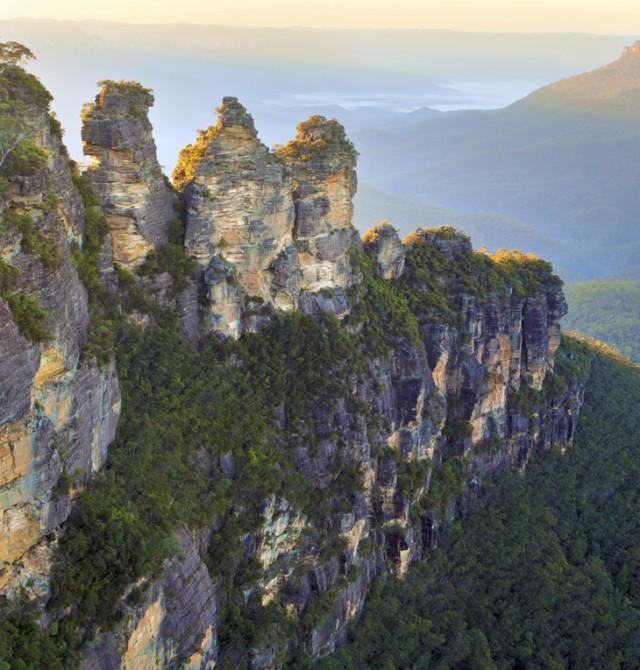 Naturaleza prodigiosa en un parque nacional