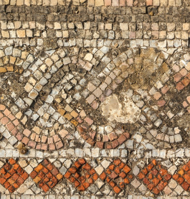 Mosaico Sidon en Líbano