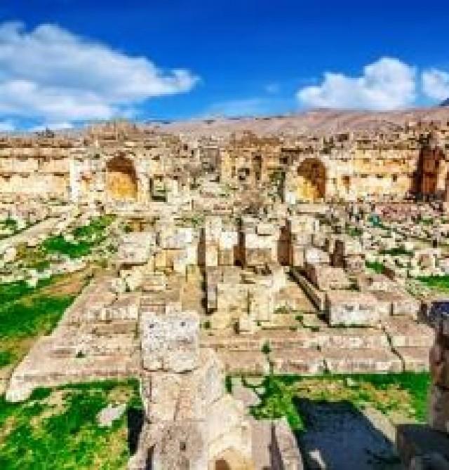 Beirut – Cedros del Baruk – Anjar – Baalbek – Beirut en Líbano