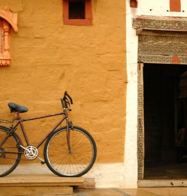 La India en bicicleta en India
