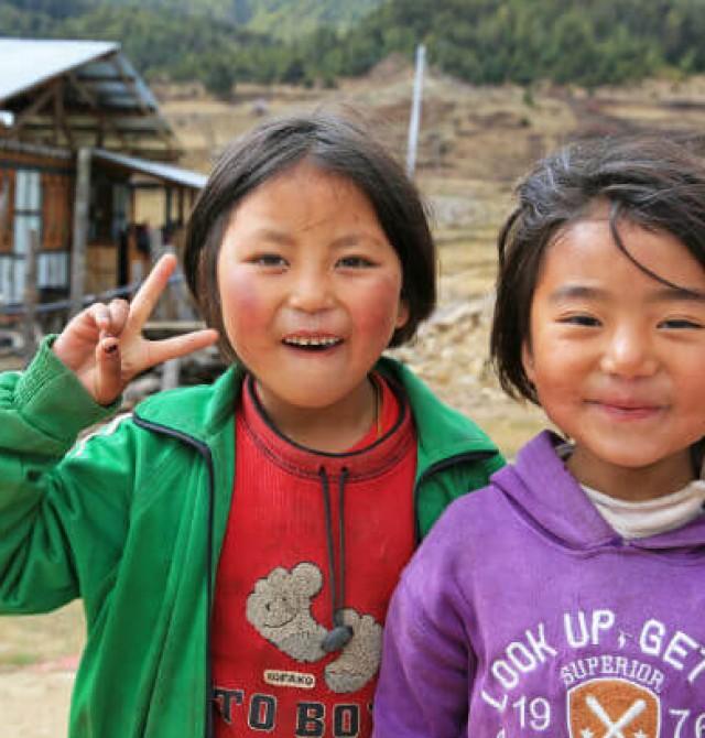 en Bután y Nepal