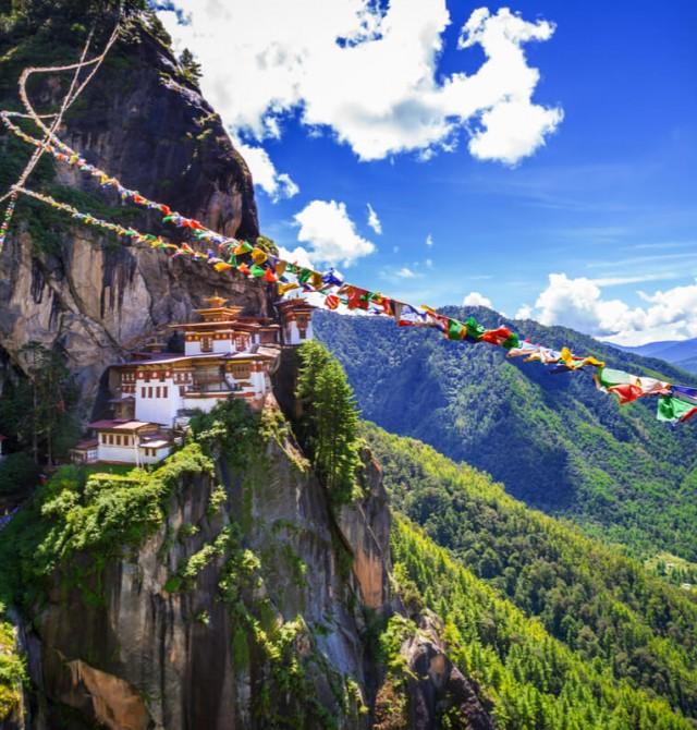 El nido del tigre en Bután y Nepal