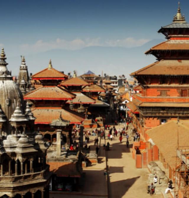 Plaza Durbar de Katmandú en Bután y Nepal