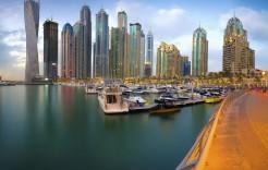Dubai Marina en Emiratos Árabes y Omán