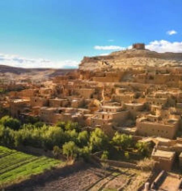 Ouarzazate en Marruecos