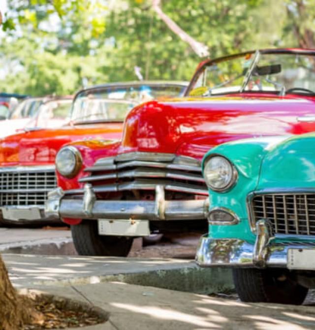 La Habana en almendrón en Cuba