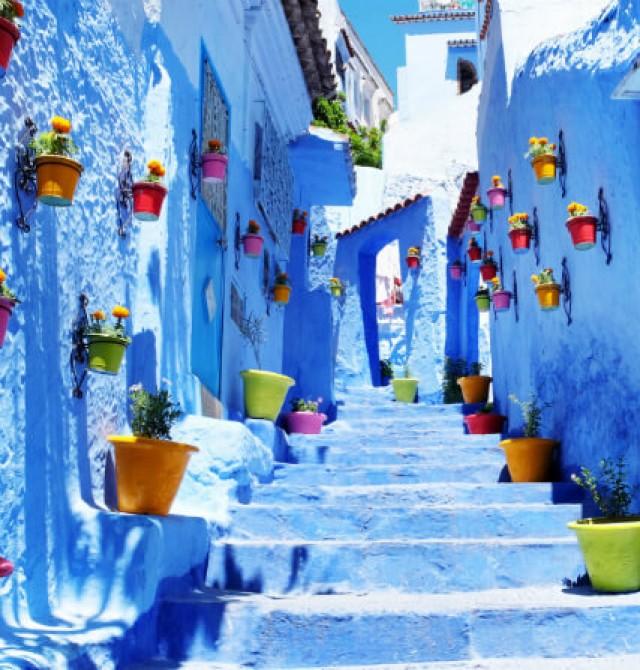 la ciudad azul