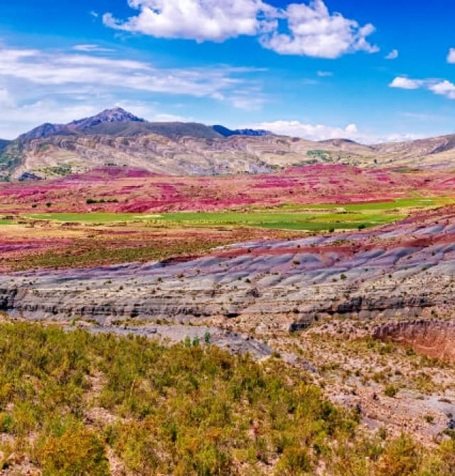 Cráter de Maragua y Ñiñumayu en Bolivia