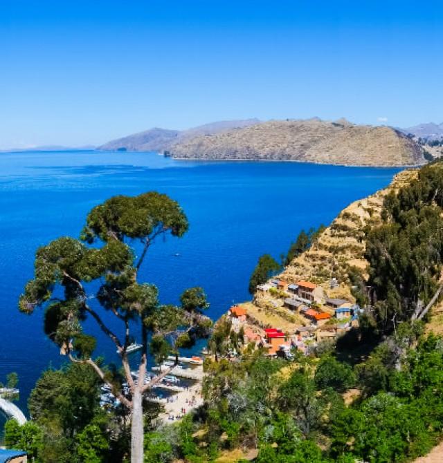 Isla del Sol en Bolivia
