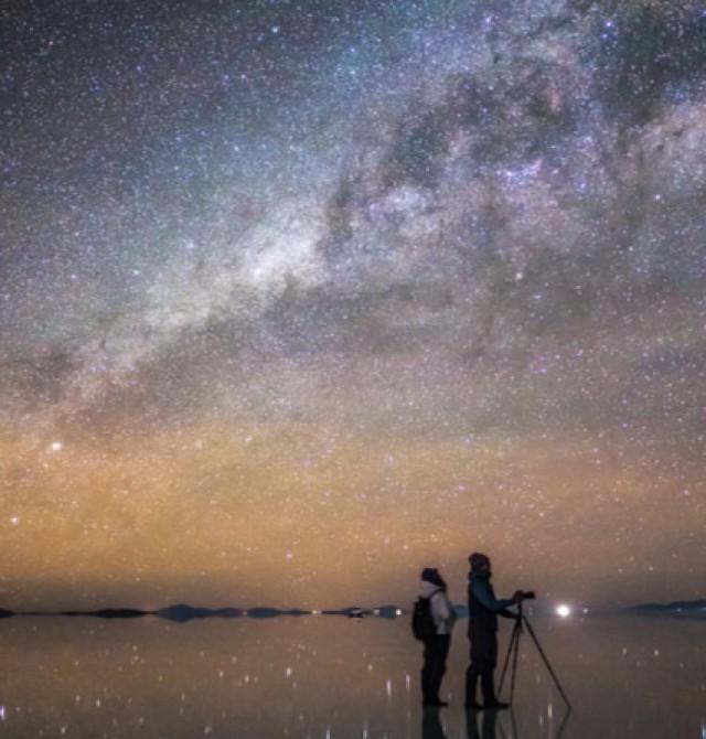 Salar de Uyuni en Bolivia