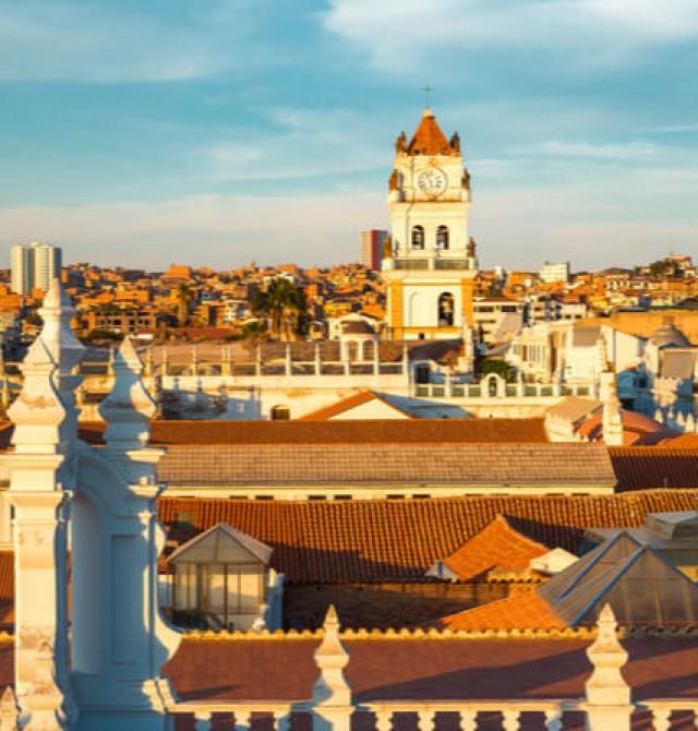 Sucre y Potosí exclusivos en Bolivia
