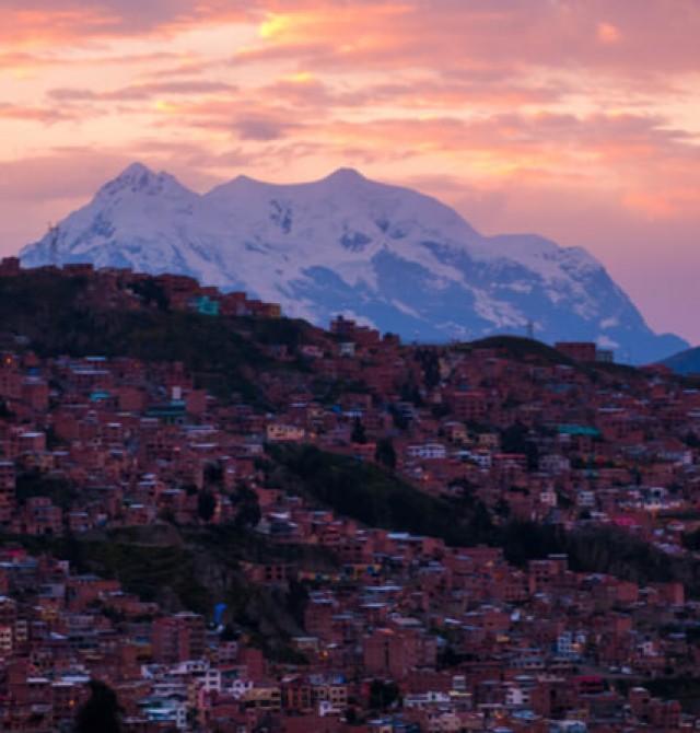 La Paz de lujo en Bolivia