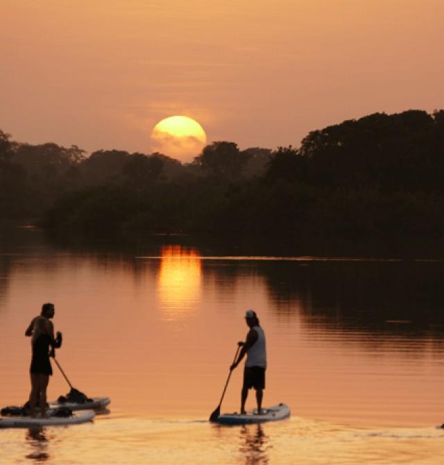 Río Gambia en Paddle SUP