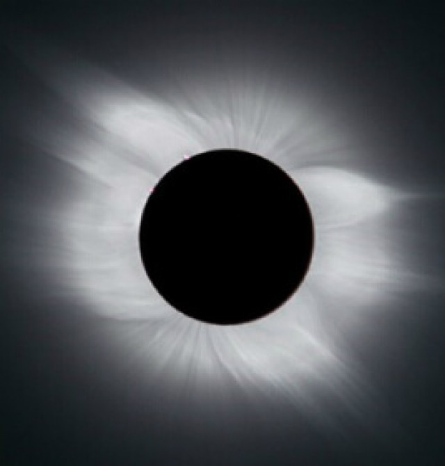 Eclipse solar en Bariloche en Buenos Aires