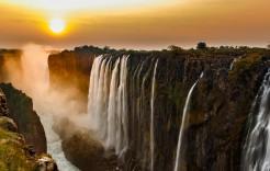 en Botsuana y Zimbabue