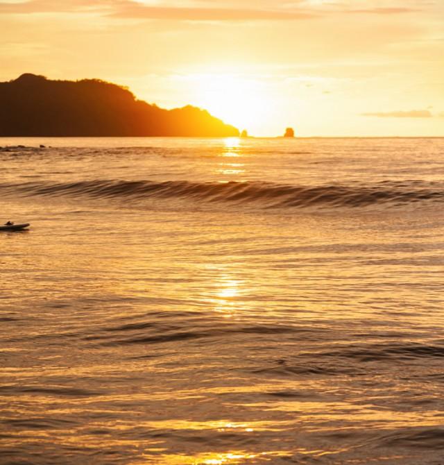Playa de Tamarindo en Costa Rica