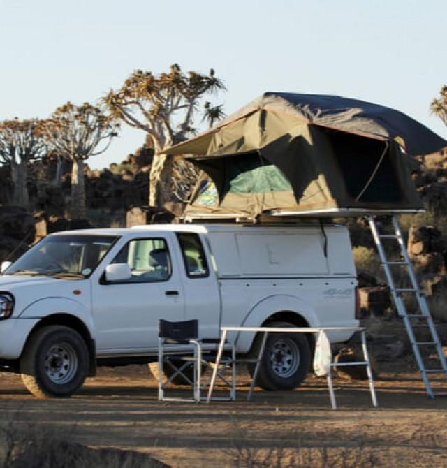 Tiendas de campaña y lodges en Namibia