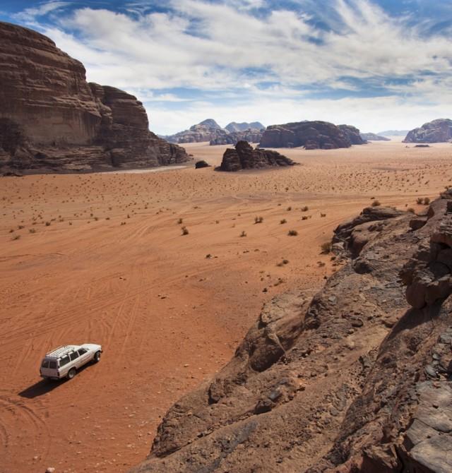 Wadi Rum en 4x4