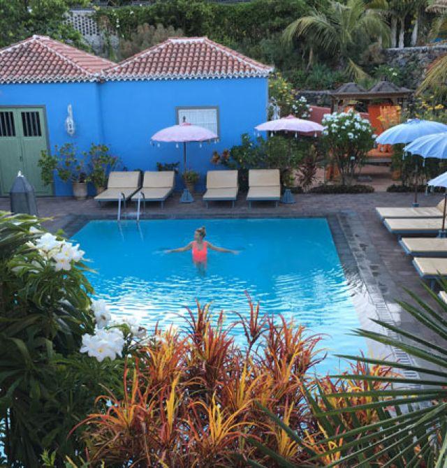 Hotel Hacienda de Abajo en La Palma
