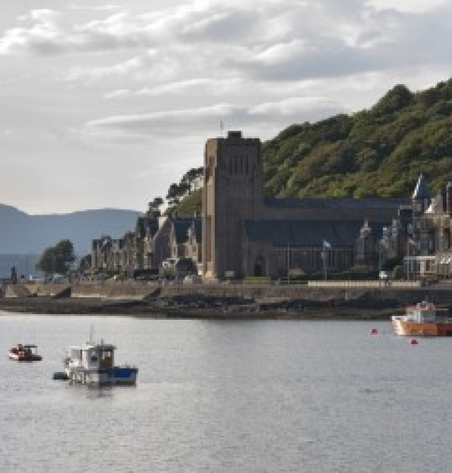Oban en Escocia