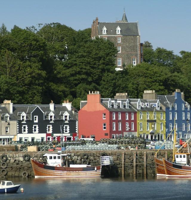Regreso al pasado en Escocia