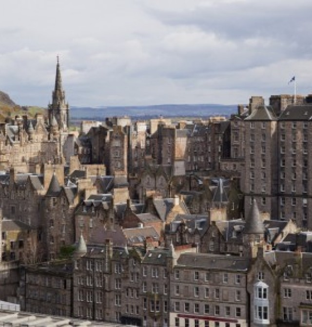 Edimburgo en Inglaterra y Escocia