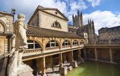 Baños romanos en Inglaterra