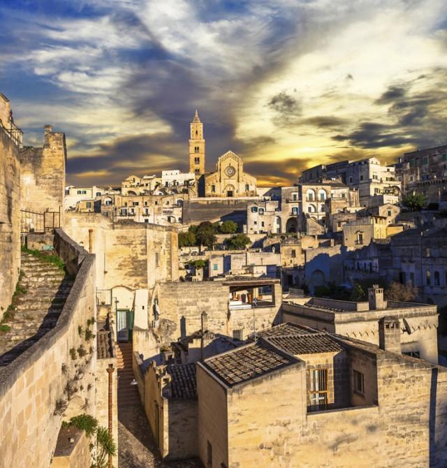 Matera en Italia